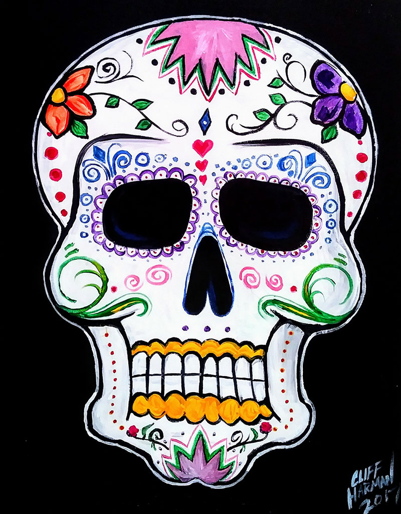 Day of the Dead - Sip and Paint Parties in Bartlett, IL