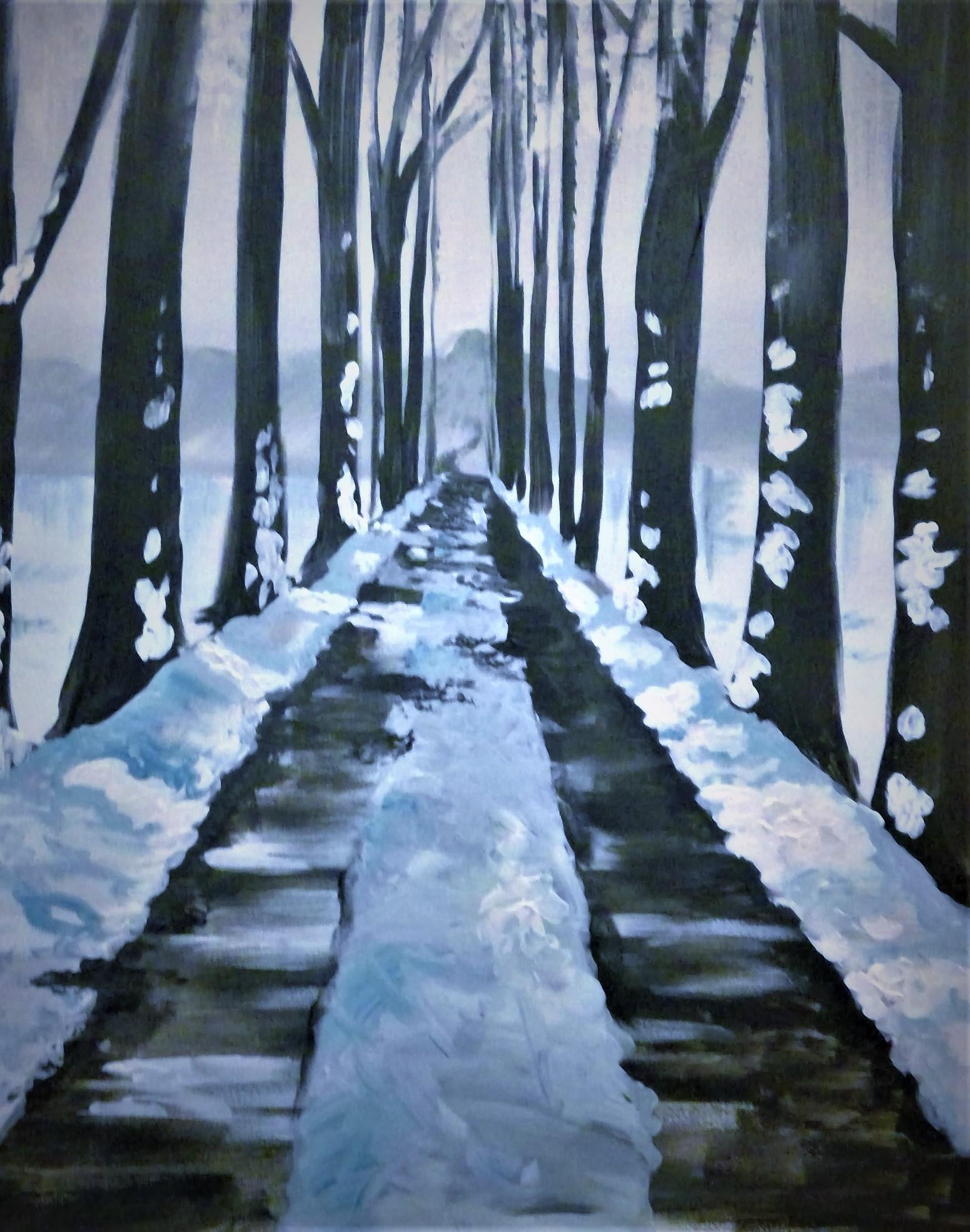 A27 A Winter Walk - Sip and Paint Parties in Bartlett, IL
