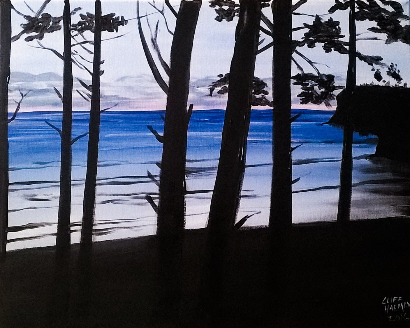A37 Pacific Through The Trees - Sip and Paint Parties in Bartlett, IL