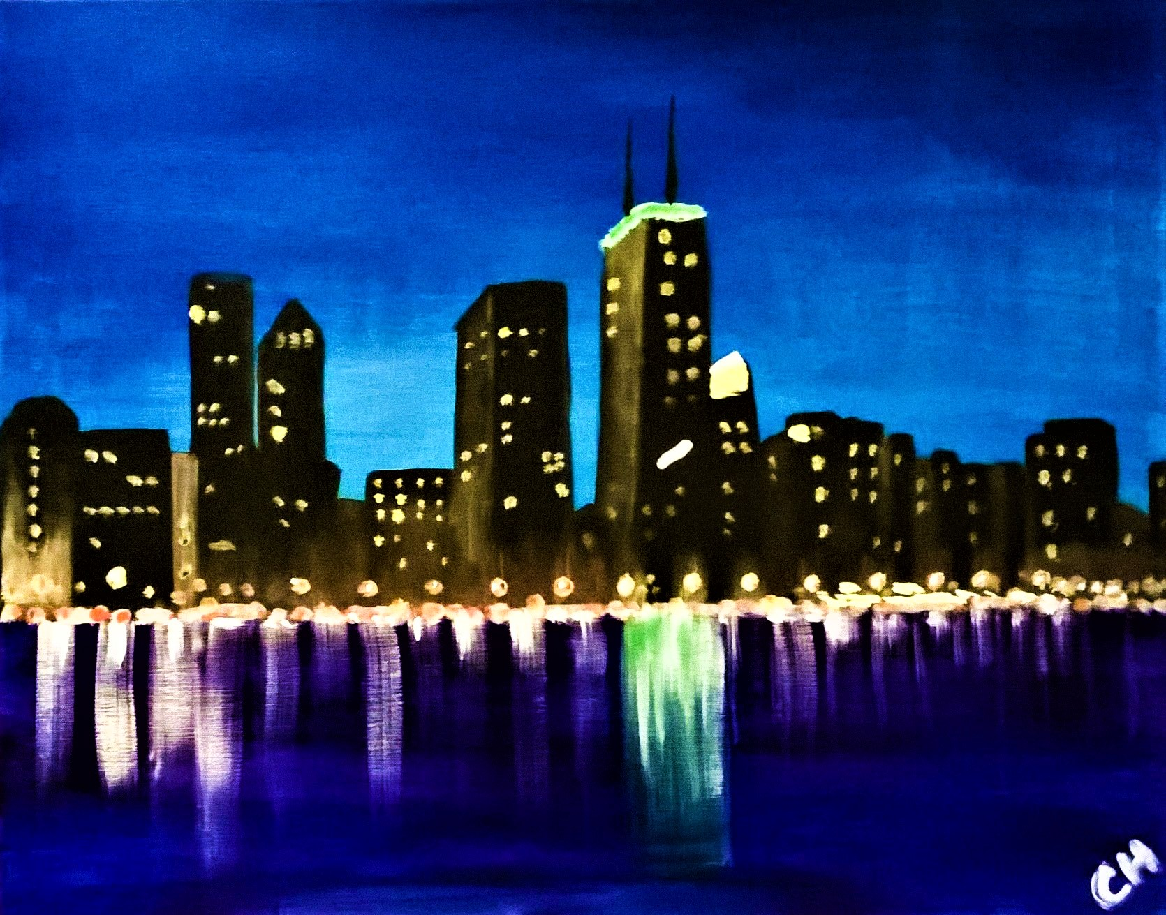 A38 Chitown Rising - Sip and Paint Parties in Bartlett, IL