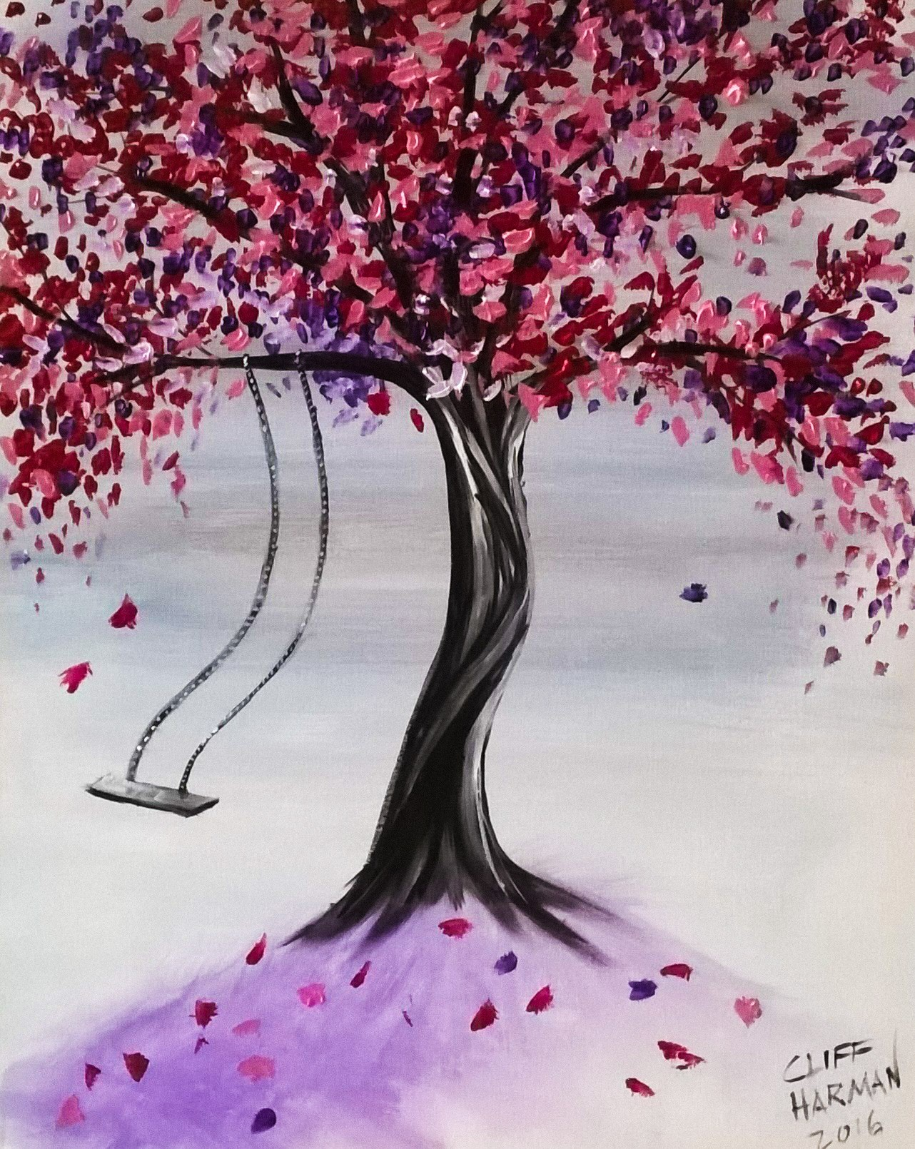 A40 Mystical Tree - Sip and Paint Parties in Bartlett, IL