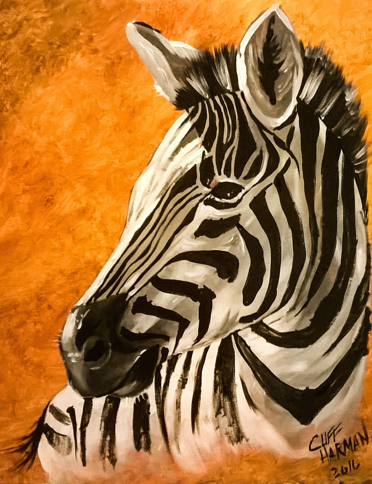 A44 Zebra - Sip and Paint Parties in Bartlett, IL