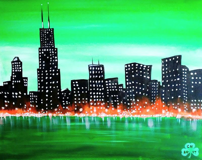 A57 Are you Chi-rish - Sip and Paint Parties in Bartlett, IL