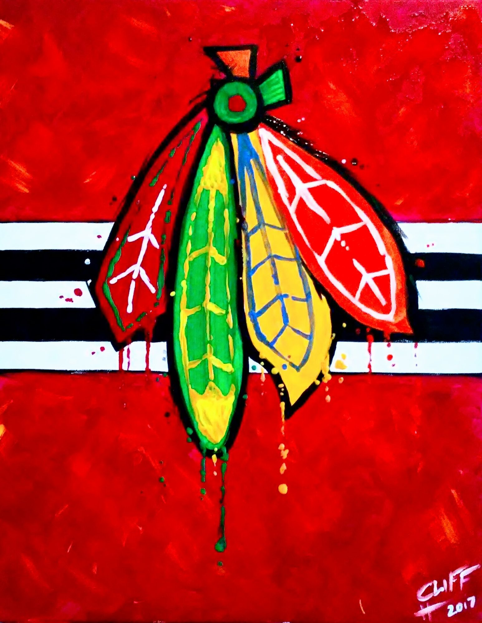 A61 Hawks Nation - Sip and Paint Parties in Bartlett, IL