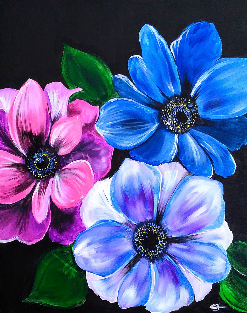 A65 Beautiful Melody - Sip and Paint Parties in Bartlett, IL