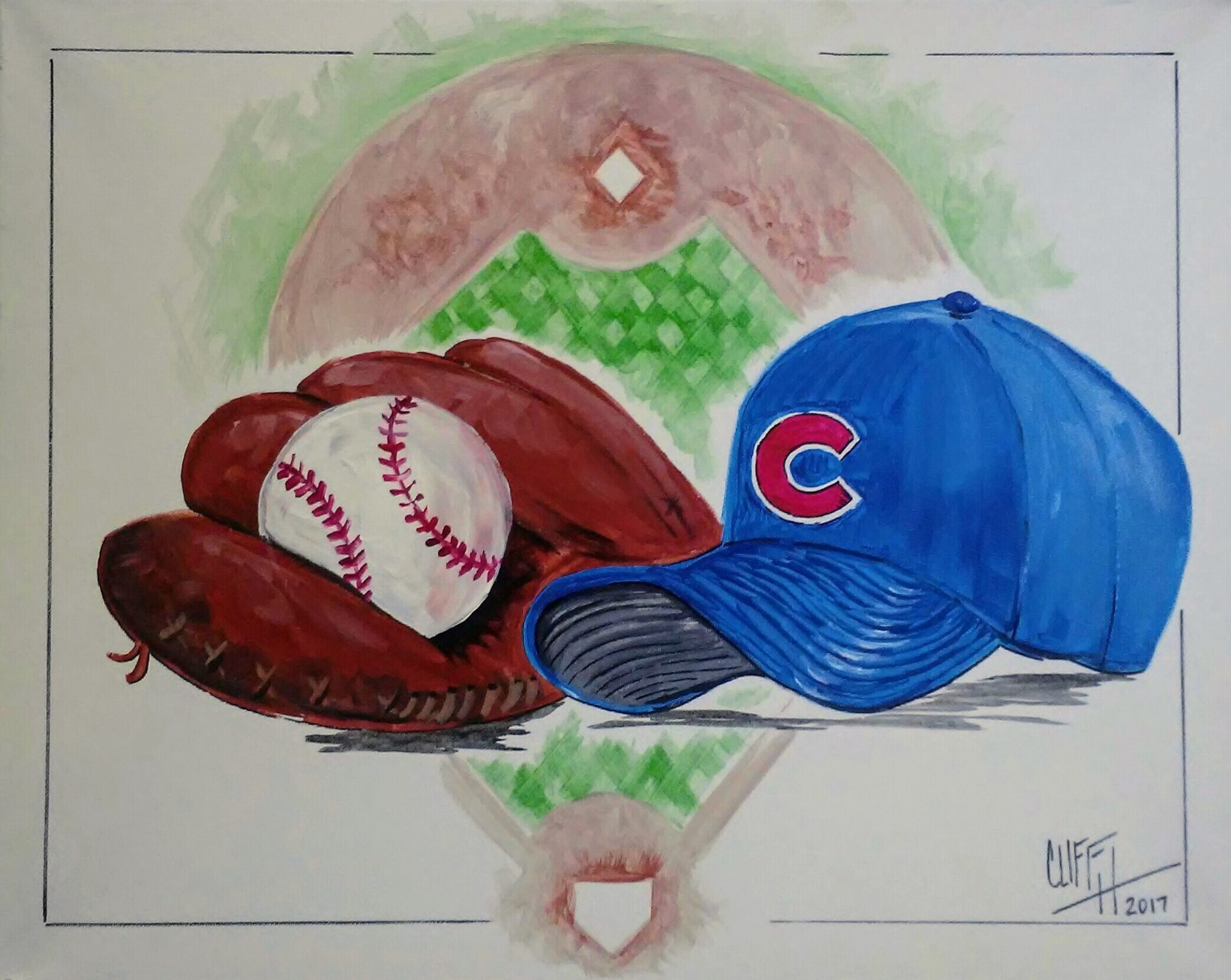 A69 GO CUBS! - Sip and Paint Parties in Bartlett, IL