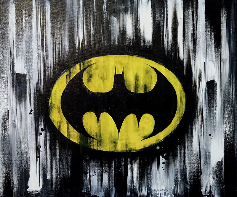 A87 Dark Knight - Sip and Paint Parties in Bartlett, IL