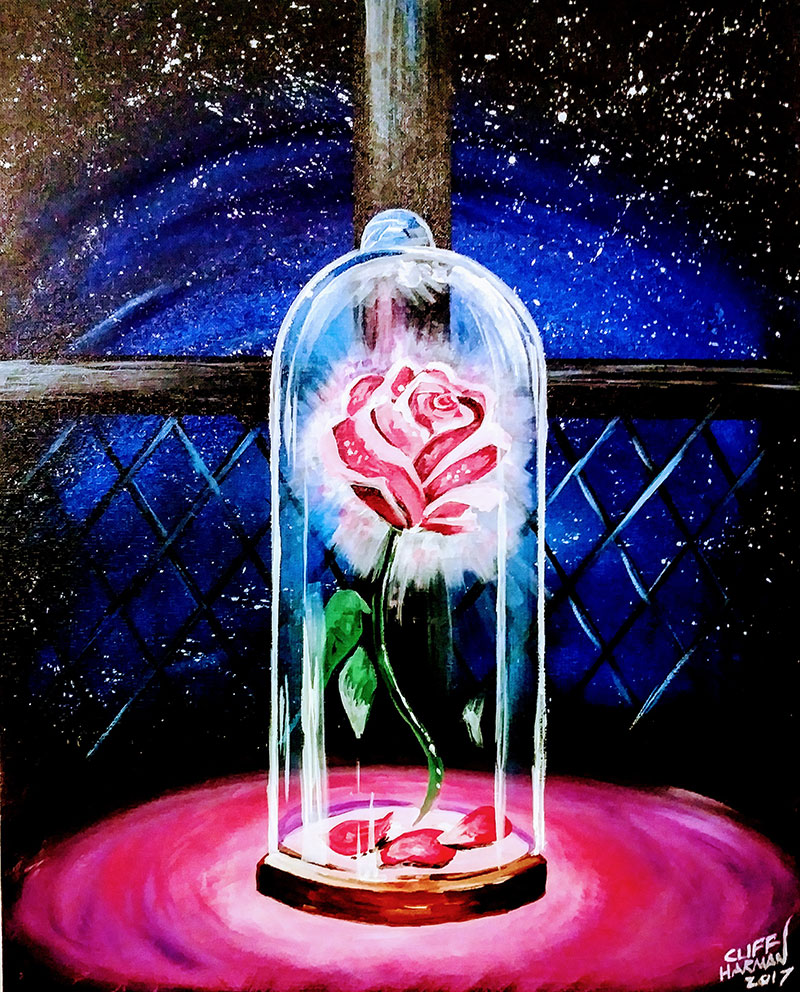 A99 Beauty and the Beast - Sip and Paint Parties in Bartlett, IL