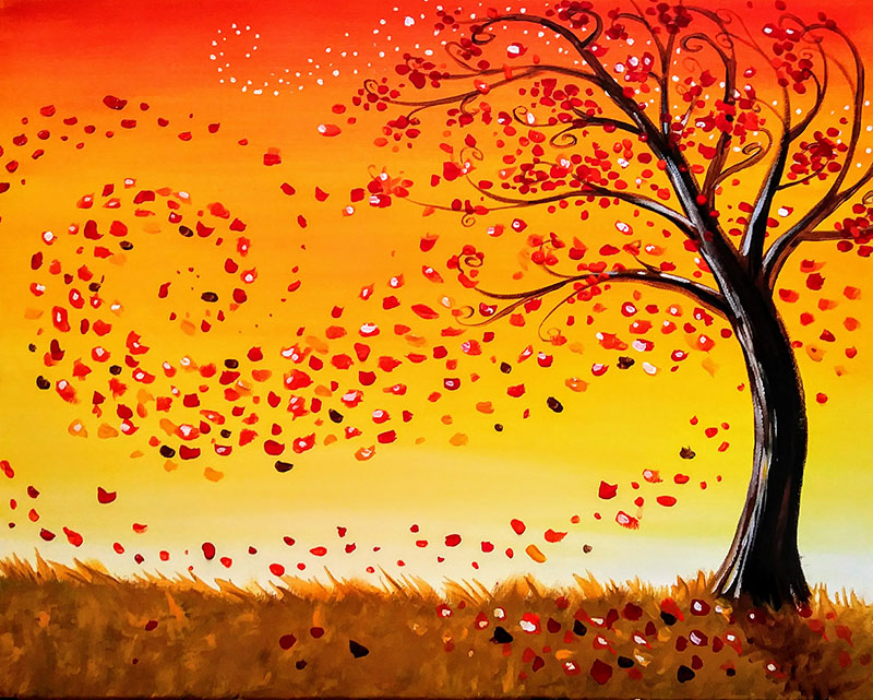 The Autumn Tree - Sip and Paint Parties in Bartlett, IL