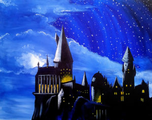 Hogwarts castle, sip & paint, paint parties, local activities