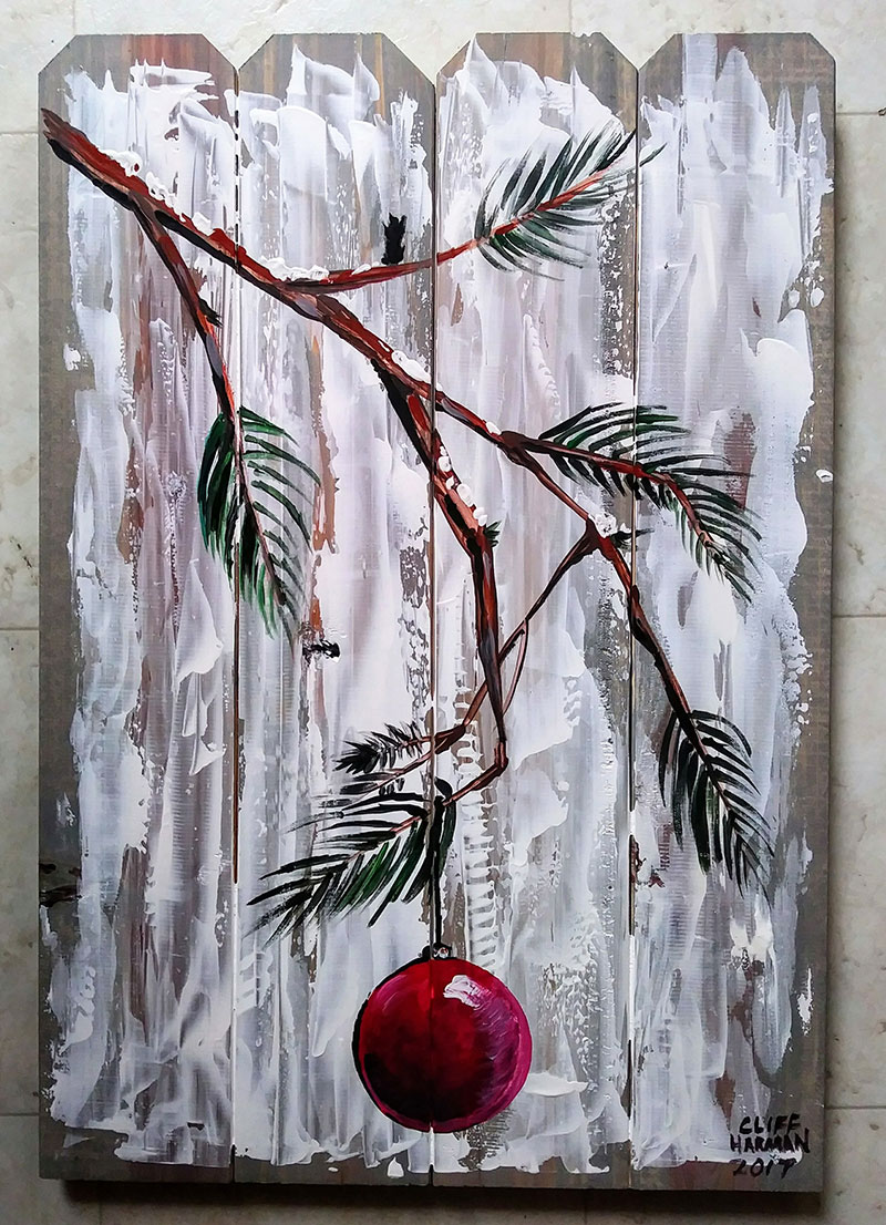 The Christmas Branch - Sip and Paint Parties in Bartlett, IL