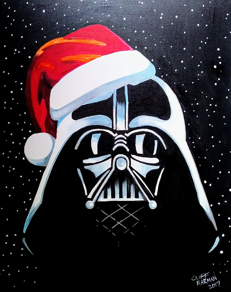 Merry Sithmas - Sip and Paint Parties in Bartlett, IL