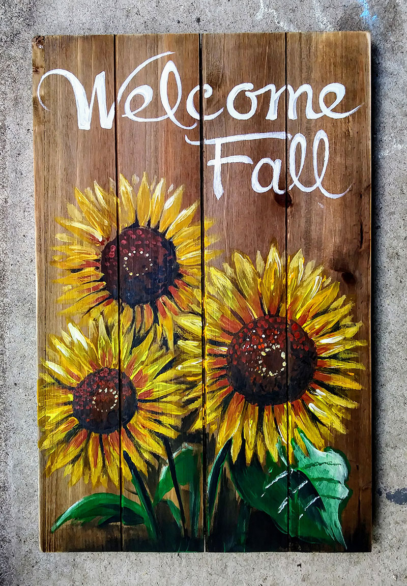 B5 Welcome Fall - Sip and Paint Parties in Bartlett, IL