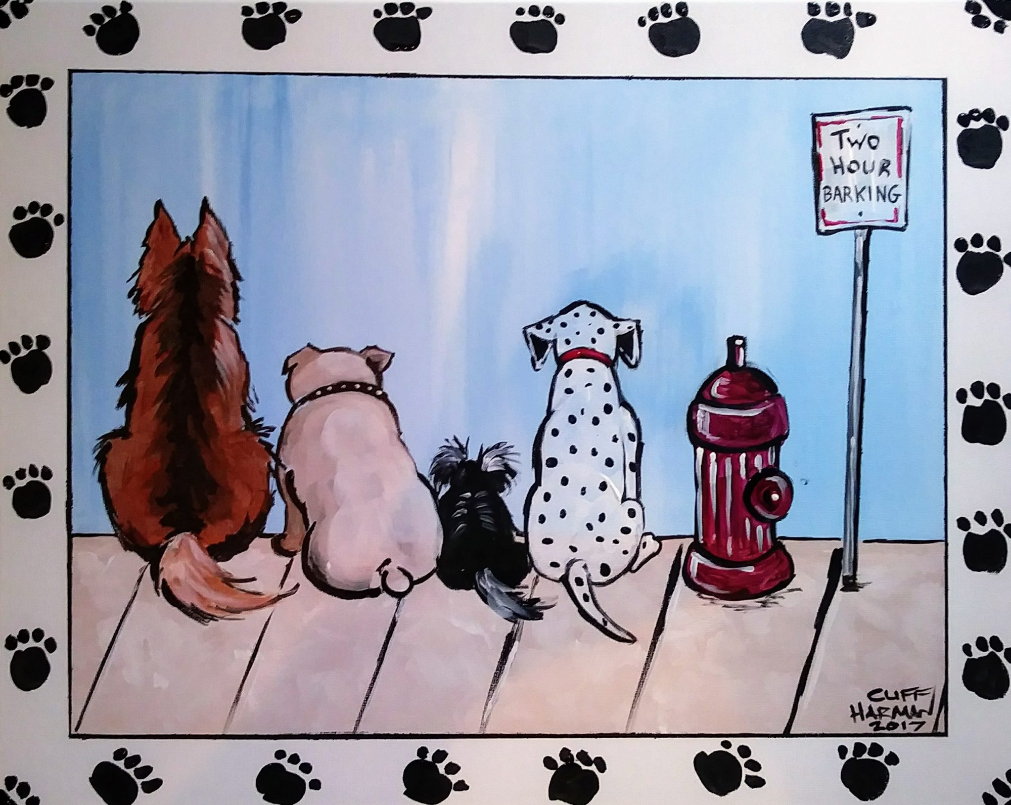 B6 Doggy Days - Sip and Paint Parties in Bartlett, IL