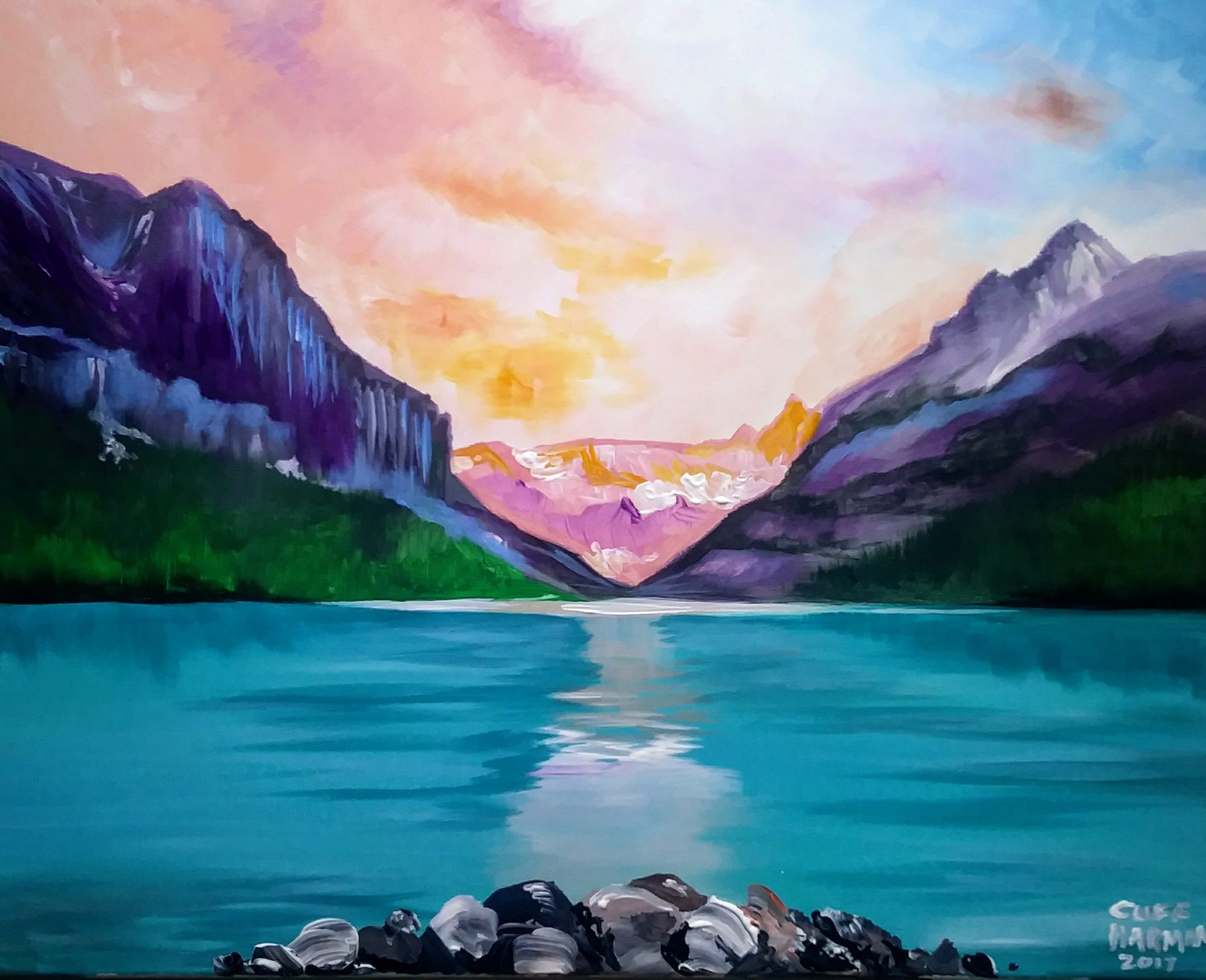 B9 Banff National Park - Sip and Paint Parties in Bartlett, IL
