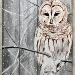 Little Owl (Wood Pallet)