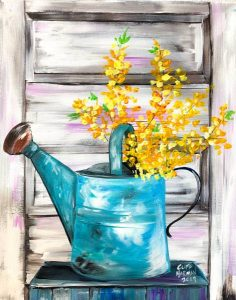 sip & paint, painting party, local activities, bars, BYOB,