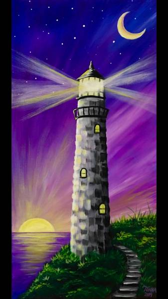 light house, local activities, sip & paint, paint parties, bars, BYOB