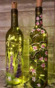 wine bottle sip & paint, wine bottle painting, sip & paint, local activity