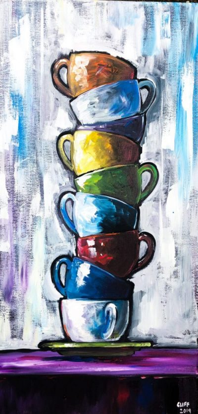 sip & paint, BYOB, bars, local activities, coffee art, paint parties