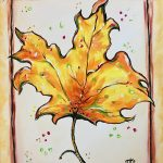 sip & paint, paint parties, BYOB, bars, local activities, fall leaves