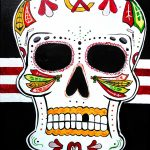 day of the dead, sugar skulls, BYOB, sip & paint, paint parties, local activities, bars