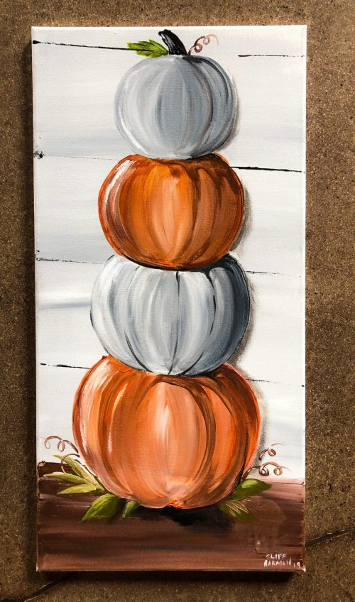 sip & paint, paint parties, local activities, bars, BYOB, halloween, fall, autumn, harvest