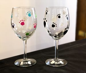 sip & paint, wine glass painting, local activities, bars, BYOB, pets a palooza, anderson animal shelter, animal welfare, pet lovers, pets in need, animal lovers, charitable causes